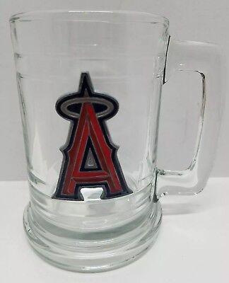 MLB Anaheim Angels Beer Mug Bar Glass Pewter Stein Baseball Collectible Man Cave Angels Bar Anaheim