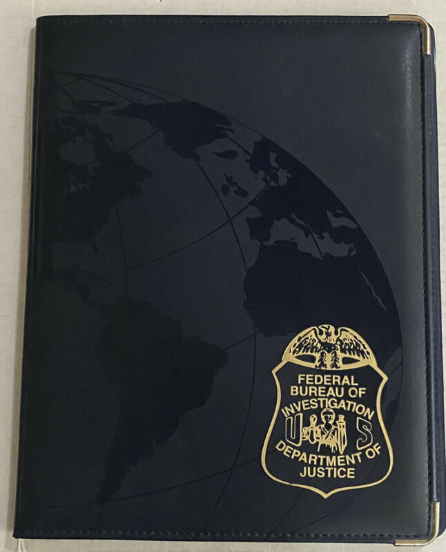 FBI - US DOJ portfolio notebook, Federal Bureau of investigation Made In The USA