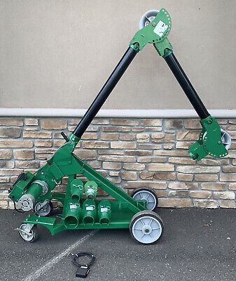 Greenlee 6906 Ut10 10000lbs 10k Lbs Ultra Tugger Cable Puller Mvb Great Shape