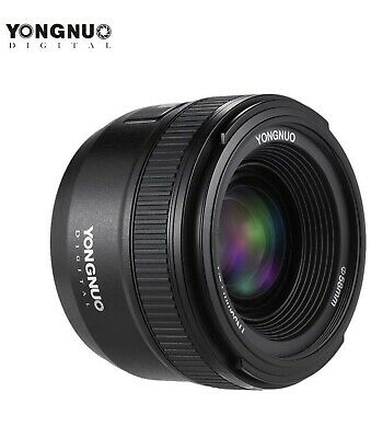 YONGNUO YN35MM LENS F2N F2.0 WIDE-ANGLE FOR NIKON D300 D5500 D3400 CAMERA A7H5