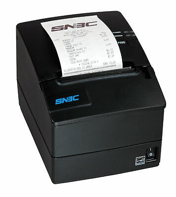New Snbc-132085 Btp-r180ii Thermal Pos Printer Usb-serial Ethernet Free Ship