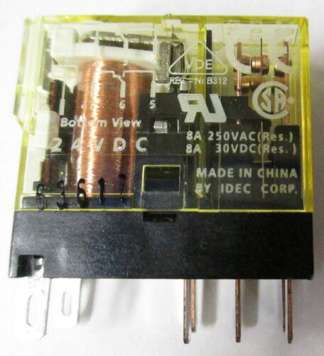 IDEC RJ2S-CLD D24 Ice Cube Relay
