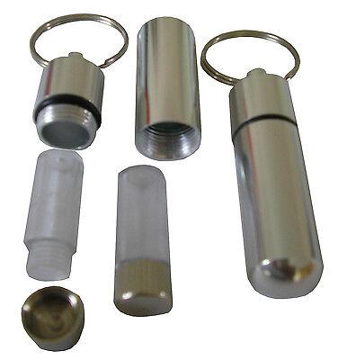 2 St. Schlüsselanhänger, Geld- und Pillendose, Mini safe, tresor, 4000.002 002 Safe