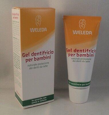 WELEDA Zahnpasta gel Kinder 50 ml Schutz natürliche gegen Karies Zähne Milch ()