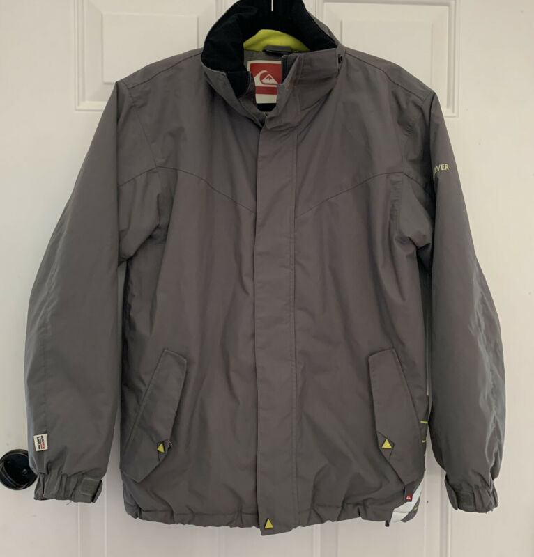 Quicksilver QUIKTECH Ski Snowboard Jacket COAT Boys Size 16 XL SNOW - NO HOOD!
