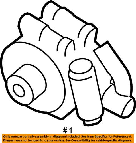 Ford Oem Power Steering Pump 7l3z3a674brm