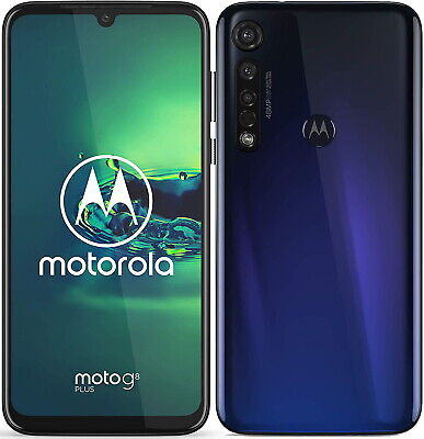 Motorola XT2019-1 Moto G8 Plus 4G Smartphone 64GB Unlocked - Cosmic Blue B+
