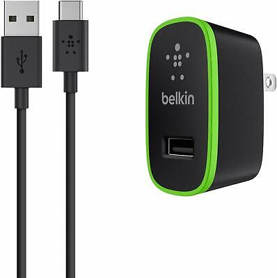 Belkin Universal Wall Charger + 6-Foot USB-C Cable (USB Type C) (2.1 Amp) Belkin Usb Wall Charger