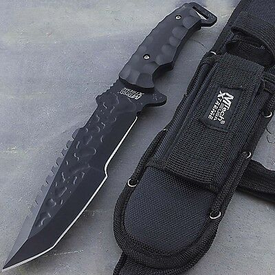"12"" MTECH XTREME TACTICAL FULL TANG TANTO HUNTING KNIFE Survival Fixed Blade"