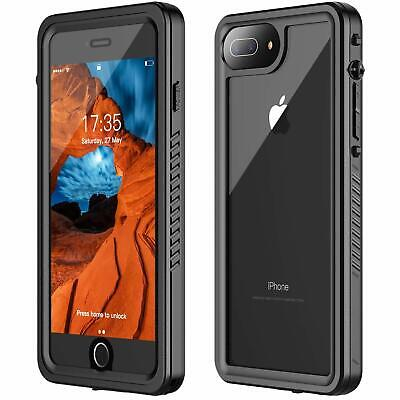 Full Sealed Rugged Heavy Duty For iphone 8 plus Case shockproof Waterproof i7