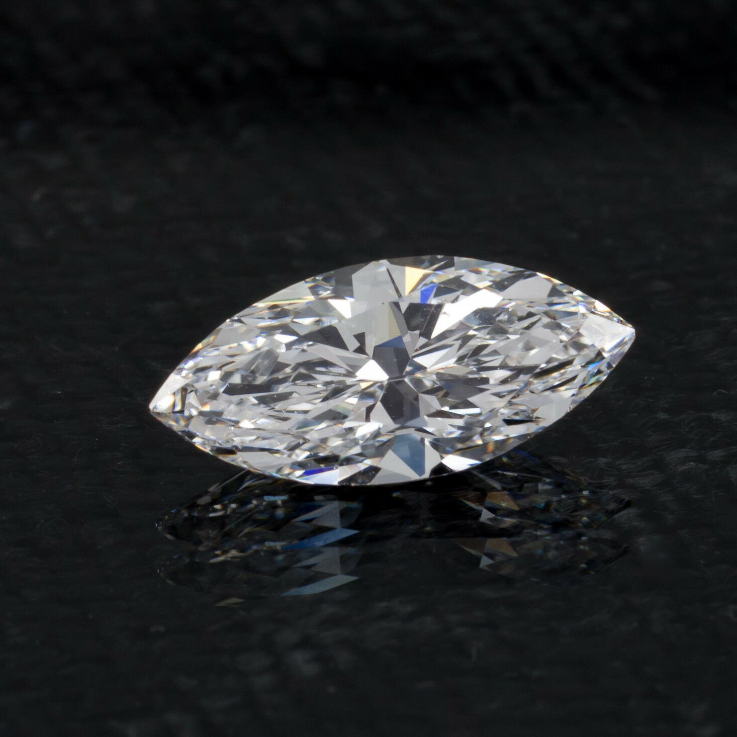 1.58 Carat Loose D / SI1 Marquise Brilliant Cut Diamond GIA Certified