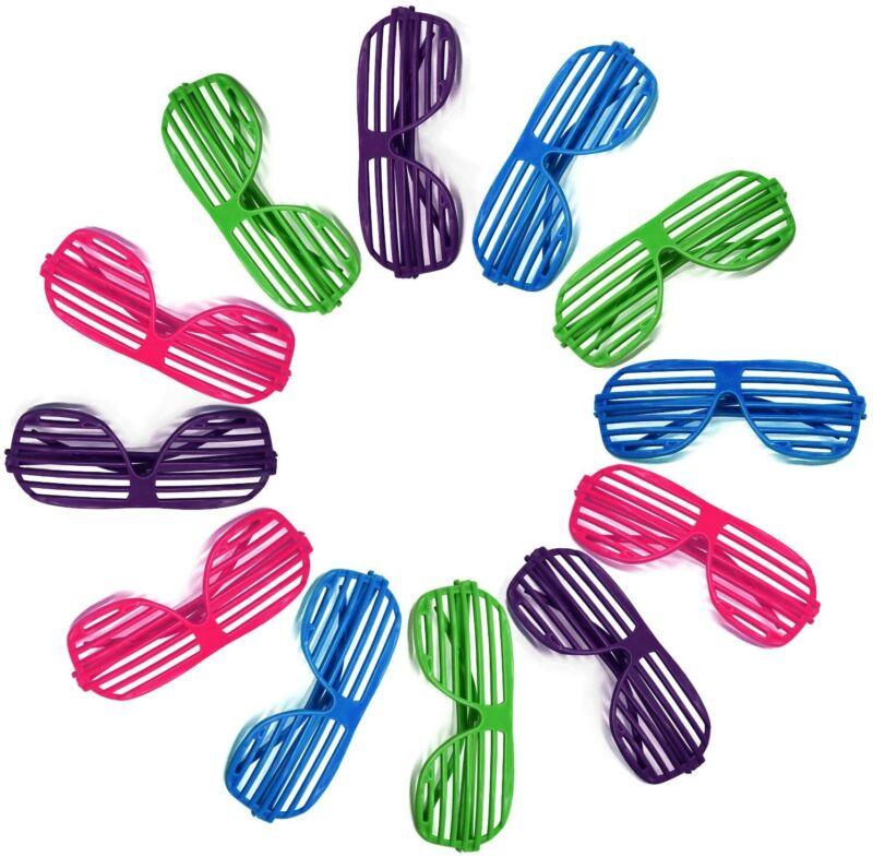 Novelty Place Neon Color Shutter Glasses 80