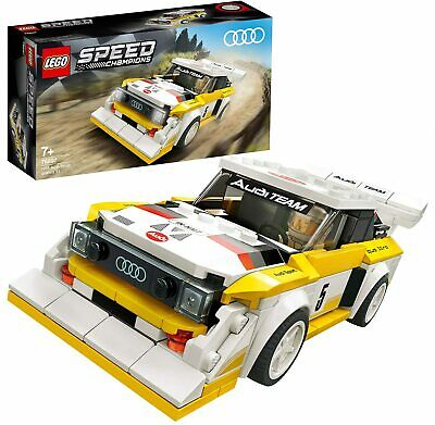 LEGO 76897 Speed Champions Audi Sport quattro S1 Racer Toy with Racing...