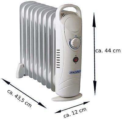 Radiateur d'huile Electrique - 1000watts