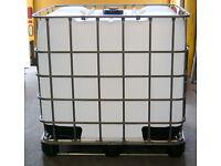 "IBC Tote Sealed Top Fill Cap Coarse 6/"" Removable 2/"" NPT Plug Schutz Container"