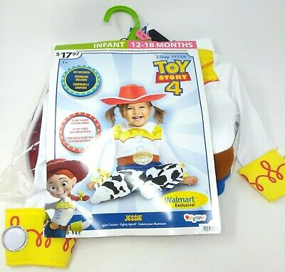 Toy Story Jessie Toddler Halloween Costume (NWT Disney Pixar JESSIE Toy Story 12-18 Mth TODDLER Cowgirl Costume)