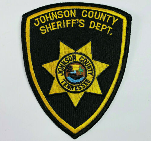 Johnson County Sheriff Tennessee TN Patch A6