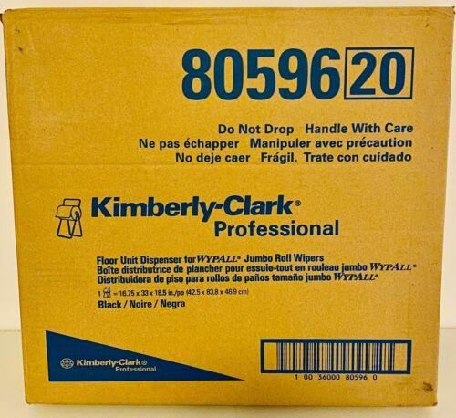 Kimberly Clark Professional Floor Unit Jumbo Roll Dispenser 80596 Black - New