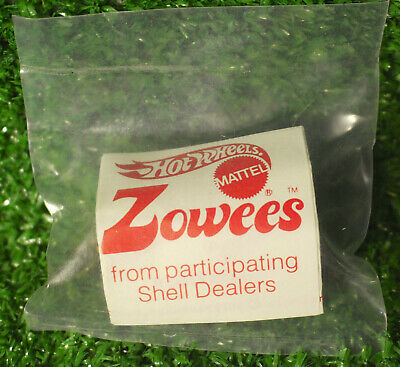 Mattel Zowees Desperado Shell Gas Hot Wheels Redline Era 1972 New Sealed