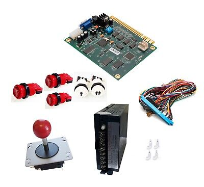 Arcade Classics 60 In 1 Vertical Conversion Kit Buttons Jamma Power Supply &More 60 1 Arcade