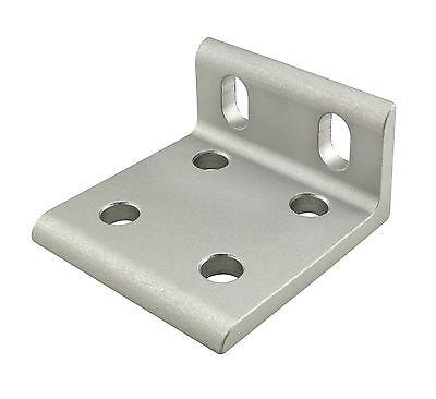 8020 Inc T-slot Aluminum 6 Hole Wide Slotted Bracket 10 Series 4286 N