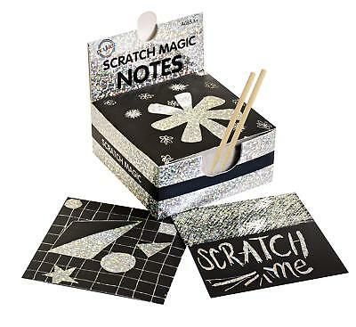 Magic Kits For Adults (Scratch Art Kit  Magic Scratch Off Notes & [2] Stylus for Kids & Adults )