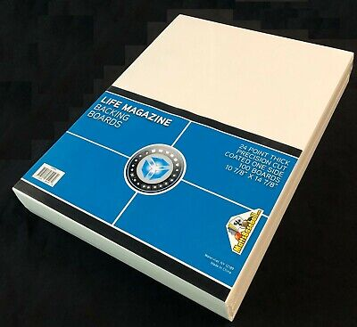 NEW!  100 CSP Ultra Clear Life Magazine Bags and 100 Boards Acid Free