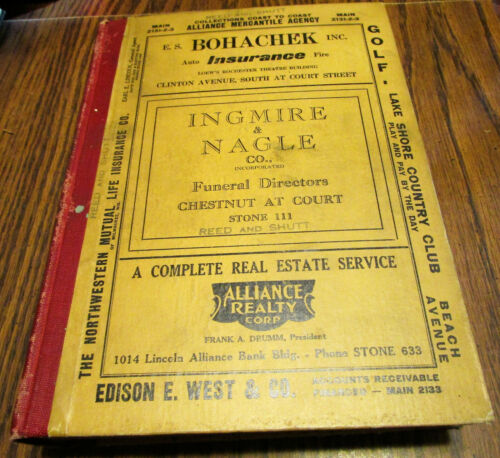 1936 ROCHESTER NY RESIDENTIAL AND BUSINESS DIRECTORY