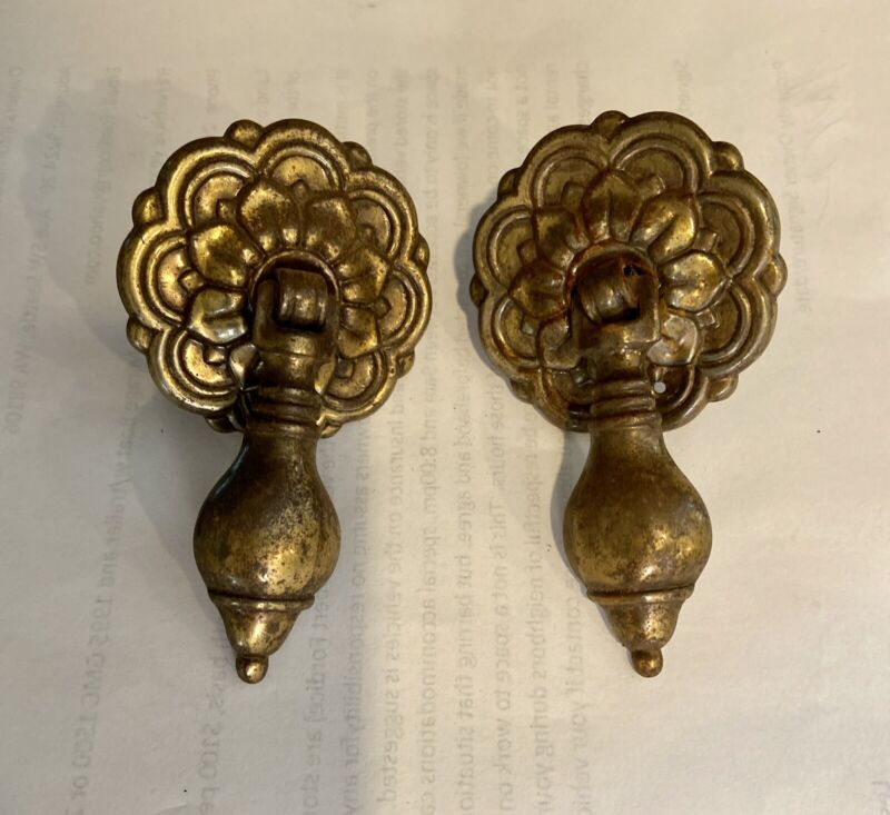 Two Antique Knobs