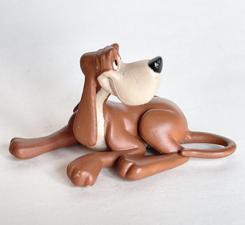 Disney Princess Cinderella BRUNO PET DOG Laying Down PVC figure toy