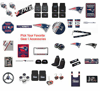 New England Patriots Pick Your Gear / Automotive Accessories