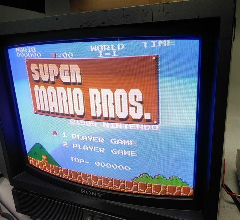 "Sony Trinitron PVM-1900 19"" Retro Gaming Color CRT Monitor"