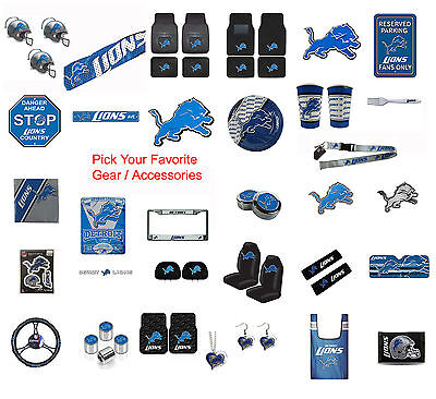 Brand New Nfl Detroit Lions Pick Your Gear   Accessories Official Licensed