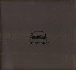 Jeep Renegade 02 / 2016 catalogue brochure Poland rare - <span itemprop='availableAtOrFrom'> Varsovie, Polska</span> - Jeep Renegade 02 / 2016 catalogue brochure Poland rare -  Varsovie, Polska