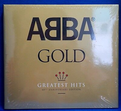 ABBA - Gold 40th Anniversary Edition CD Greatest Hits (2014) 3 Disc Set