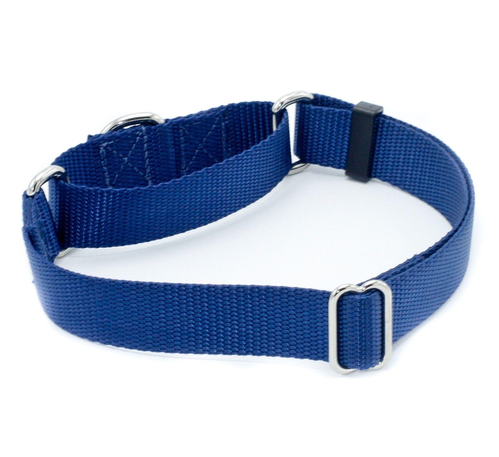 "3/4 Inch Martingale No Slip Dog Collars 3/4"" Nylon Dog Colla"