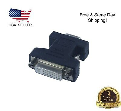 DVI-I Female Analog(24+5) to VGA Male(15-pin) Connector Adapter Buy 2 Get 1 -