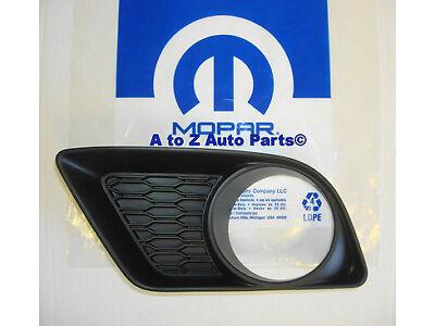 NEW 2011-2014 Dodge Charger Left Hand, Driver Side Fog Lamp Light Bezel,OE Mopar