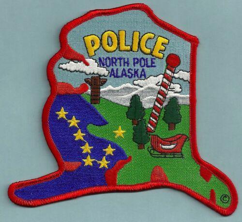 NORTH POLE ALASKA POLICE SHOULDER PATCH