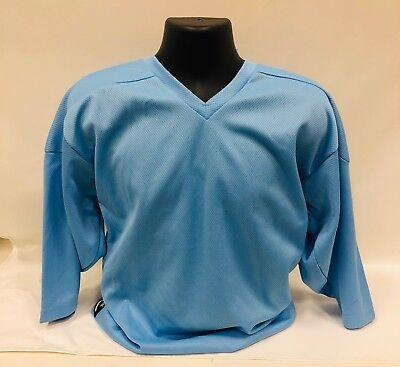 7f195440a Hockey Jersey Firstar Powder Blue Intermediate Goalie Cut