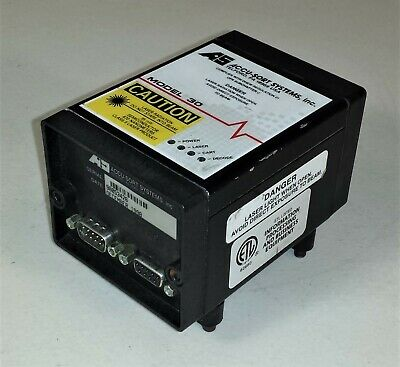 Accu-sort Systems Model 30 Laser Bar Code Scanner W Mounts