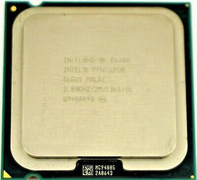 Intel Pentium E6300 2.8 GHz Dual-Core S775