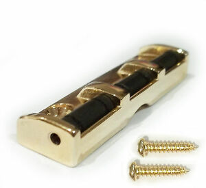 Roller Nut Gold For Guitar Neck Strings  42.5mm c/w mounting screws