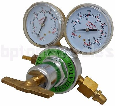 Oxygen Gas Welding Welder Regulator Pressure Gauge Victor Type Cutting Cga540 F