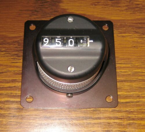 Amphenol Microdial Counting Potentiometer Knob 1304