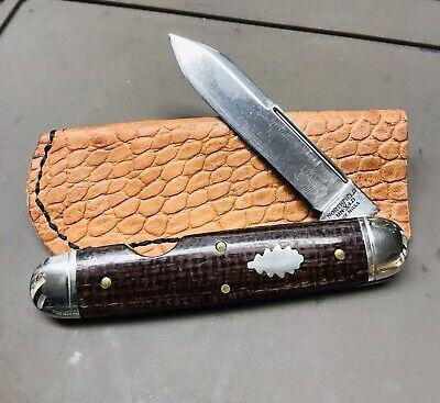 great eastern cutlery 542117 Burlap Micarta Easy Open Mod