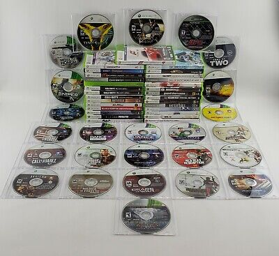 MICROSOFT XBOX 360 GAMES Lot - You Pick and Choose the Game- Fast Same day Ship