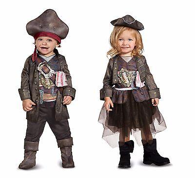Toddler Disney Captain Jack Sparrow Pirates of the Caribbean Costume - Jack Sparrow Disney Costume