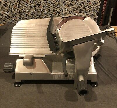Used Hobart Corp. Medium Duty The Edge Manual Slicer Sliver 120v 12 Blade