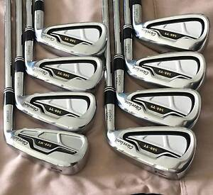 USED CLEVELAND GOLF 588TT FACE FORGED RH IRON SET 4-PW STIFF Loganholme Logan Area Preview